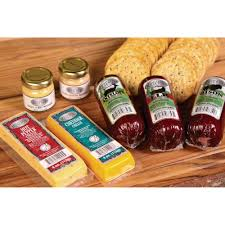 gourmet mustard s reserve sausage cheese and gourmet mustard gift box 8