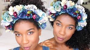 flower headbands diy chic flower crown headband no sew naptural85