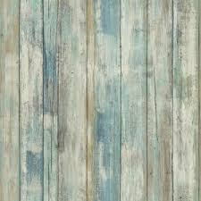 Stick Wall Roommates 28 18 Sq Ft Distressed Wood Peel And Stick Wall Decor