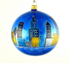chicago water tower ornament mys968