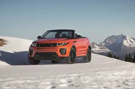 land rover convertible 5 things to know about the 2017 range rover evoque convertible