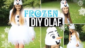 Diy Olaf Costume Easy Cute U0026 Affordable Laurdiy Youtube