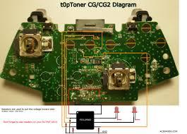 t0ptoner xbox 360 two tone controller mod
