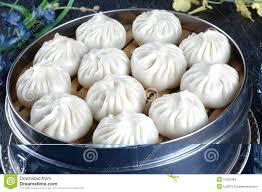 cuisine asiatique vapeur nourriture chinoise petit cuit à la vapeur image stock