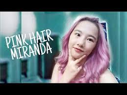 gambar tutorial ombre rambut tutorial pink hair miranda cara cat rambut sendiri youtube