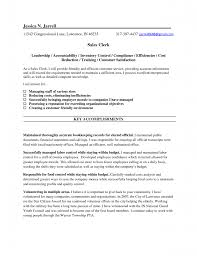 Job Description Resume Retail by Sales Clerk Job Description Resume Free Resume Example And