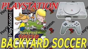 backyard soccer league ps1 991 gameplay youtube
