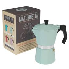 espresso coffee classic espresso coffee pot mint dotcomgiftshop