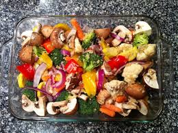 Roast Vegetables Recipe by Garlic Rosemary Oven Roasted Vegetables With Parmesan Peace Love