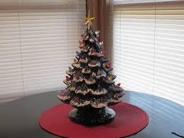 ceramic christmas trees nowell lit ceramic christmas tree medium ceramics