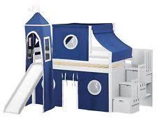 loft bed with slide ebay