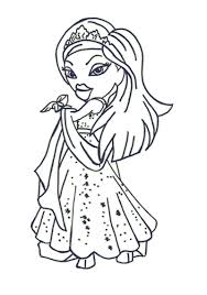simple bratz coloring pages for kids has bratz coloring pages on