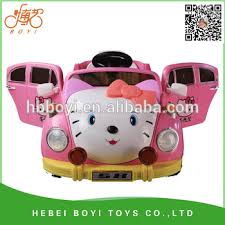 wheel mini electric kids car kitty lovey kids car