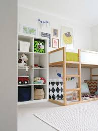 Ikea Bunk Bed Reviews Kids Bedroom With Loft Bed Playspace Ikea Expedit Or Kallax