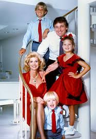 donald trump family the donald trump family right ivana and eric left donald trump