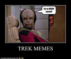 Worf Memes - star trek monday 7