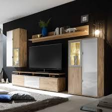 Wohnzimmerschrank Weiss Massiv Massivholz Wohnwände Online Kaufen Pharao24