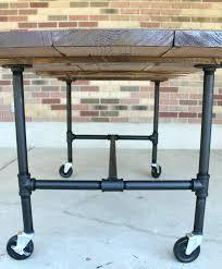galvanized pipe table legs galvanized pipe table legs kenfallinartist com