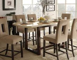 dining room tall kitchen table and chairs wonderful tall dining
