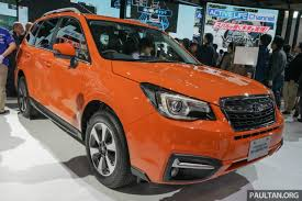 subaru forester red 2016 subaru forester u2013 ckd to begin production april 2016