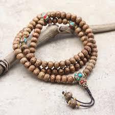 beaded bracelet with pearls images Tibetan beads thedharmashop jpg