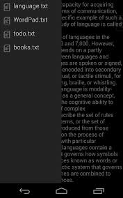 wordpad android apps on google play
