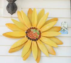 Sun Wall Decor Outdoor Impressive Design Outdoor Wall Art Ideas Features Sun Flowers