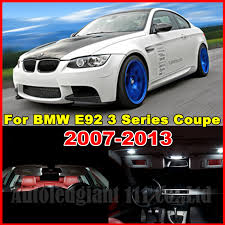 bmw 320i coupe price wljh 18x white no error canbus car led package interior light kit