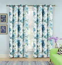floral curtain panels ebay