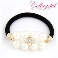 luxury hair accessories jewelry museum rakuten global market pretty pearl hair rubber
