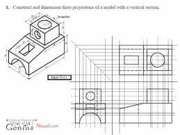 engineering drawing video tutorial geniusnepal com isometric