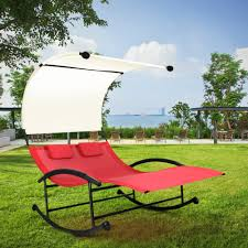 Double Chaise Lounge Chair Online Get Cheap Outdoor Double Lounge Chair Aliexpress Com