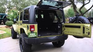2013 commando green jeep wrangler unlimited rubicon youtube