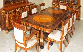 italian dining room sets traditional italian style dinning room furniture cherry wood inlay