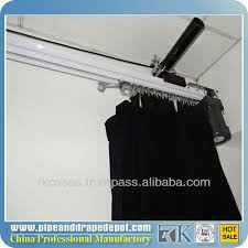 Motorized Curtain Rail Aluminum Rail Electric Track Motorized Curtain Rail With Reomte