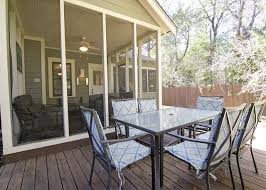 Deck In The Backyard Austin Tx United States Keasbey Cottage Emerson Guest Properties