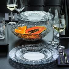 Bossanova Contemporary Leather Dining Room Amazon Com Nachtmann Bossa Nova Dinner Plate 10