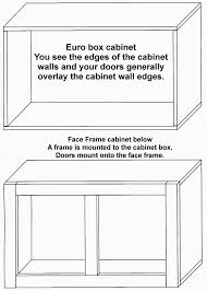 full overlay face frame cabinets cabinet construction radford cabinets inc
