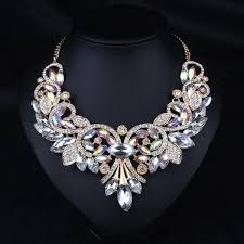 Fine Crystal Luxurious Bella Fine Crystal Necklace Everlasting Collections