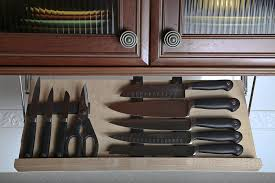 beyond the block cool kitchen knife storage abode