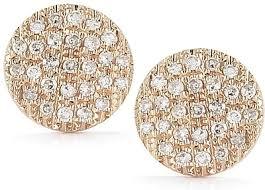 gold diamond earrings medium gold diamond earrings dr e832