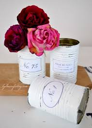 diy shabby french recycled tin cans dreams factory