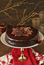 cranberry chocolate truffle cake sugarhero