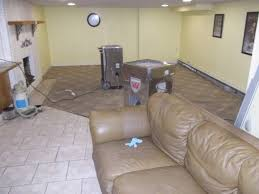 flood damage basement drying awesome how to clean up sewer backup