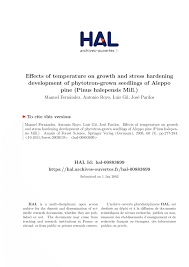 temp ature chambre b effects of temperature on growth and pdf available