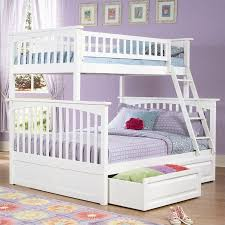 Twin Over Full White Bunk Bed  Furniture Favourites - White futon bunk bed