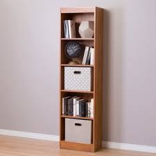 element tall narrow 5 shelf bookcase free shipping today