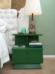 Bedside Lamp Ideas by Winsome Modern Nightstand Design Ideas Featuring Old Green Accent