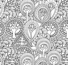 coloring pages for adults tree amazonsmile tranquil trees adult coloring book 31 stress free free