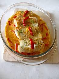 cuisine cabillaud dos de cabillaud et sa sauce poivronnée diet délices